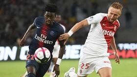 Weah (trái) có quá ít cơ hội chơi cho PSG.