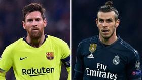 Lionel Messi và Gareth Bale