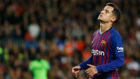 Nỗi thất vọng của Coutinho ở Barcelona.