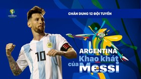 Bảng B: ARGENTINA - Nỗi khao khát của Messi