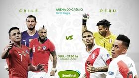 Bán kết Chilê - Peru 0-3: Flores, Yotun và Guerrero hạ bệ nhà vô địch