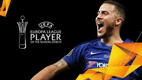 Eden Hazard thắng giải Cầu thủ xuất sắc nhất Europa League