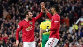 Man United - Norwich City 4-0: Rashford tỏa sáng bằng cú đúp