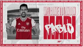 CLB Arsenal thông báo tin vui và chào đón Pablo Mari trên trang twitter