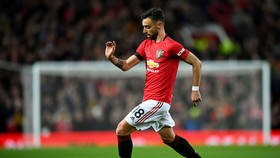 Bruno Fernandes trong màu áo Man United