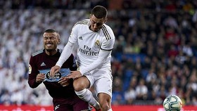 Eden Hazard trong trận hòa Celta Vigo 2-2