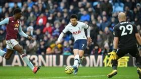 Son Heung-min ghi bàn thắng ấn định tỷ số phút 94
