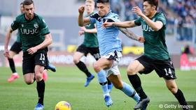 Xếp hạng Serie A, vòng 26: Thắng Bologna, Lazio chiếm ngôi đầu bảng