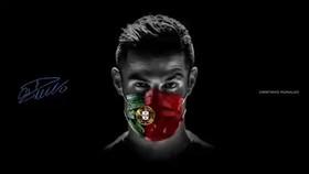 Ronaldo, Buffon đeo khẩu trang chống Covid-19