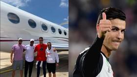 Tham quan chiếc máy bay phản lực xinh đẹp của Cristiano Ronaldo
