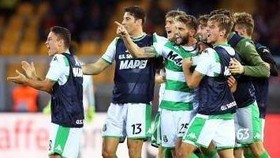 các cầu thủ Sassuolo
