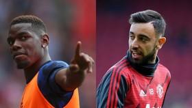 Solskjaer háo hức khi Paul Pogba đá cặp với Bruno Fernandes