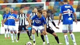 Sampdoria (trong trận gặp Juventus) có nhiều cầu thủ nhiễm SARS-CoV-2