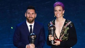 Messi ở lễ trao giải FIFA The Best 2019