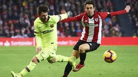 Leo Messi sẽ phải gánh trọng trách ghi bàn trước Bilbao
