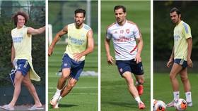 David Luiz, Pablo Mari, Cedric Soares và Dani Ceballos