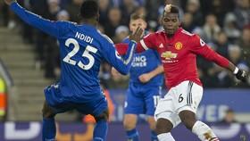 Man United chạm trán Leicester