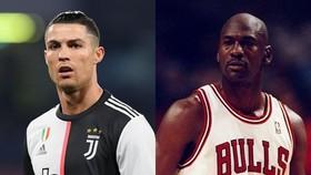 Cristiano Ronaldo và Michael Jordan