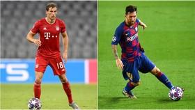 Leon Goretzka (Bayern) và Leo Messi (Barcelona)