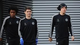 Willian, Oscar và David Luiz thời còn khoác áo Chelsea