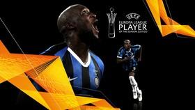Romelu Lukaku đoạt giải Cầu thủ xuất sắc nhất Europa League 2019-2020