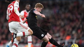 Kevin De Bruyne luôn chơi tốt tru7po71c Arsenal