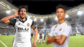 Trận Valencia - Real Madrid