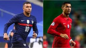 Chờ xem màn đấu súng giữa Kylian Mbappe và Cristiano Ronaldo