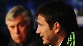 Frank Lampard và ông thầy cũ Carlo Ancelotti