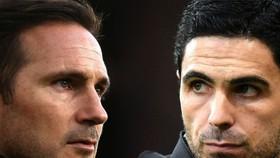 Frank Lampard và Mikel Arteta (Arsenal)