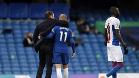 HLV Frank Lampard và Timo Werner sau trận đấu