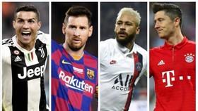 Ronaldo, Messi, Lewandowski và cả Neymar cò tên trong Đội hình tiêu biểu UEFA năm 2020