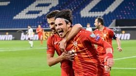 Niềm vui chiến thắng của Bắc Macedonia