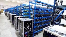 Hệ thống máy đào bitcoin tại Iran