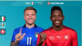 Cito Immobile (Italia) và Breel Embolo (Thụy Sĩ)