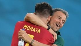 Luis Enrique đã đúng khi tín nhiệm Alvaro Morata