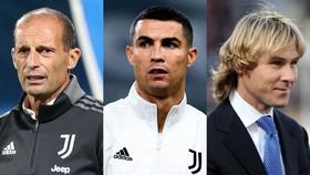 Max Allegri, Ronaldo và Pavel Nedved
