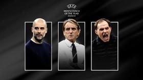 Pep Guardiola, Roberto Mancini và Thomas Tuchel