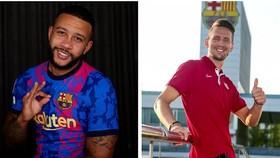 Memphis Depay và Luuk de Jong đã đủ tạo hỏa lực cho Barca