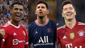 Cristiano Ronaldo, Leo Messi và Lewandowski lọt vào danh sách 30 đề cử