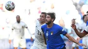 Cột dóc và xà ngang đã 3 loa62n từ chối bàn thắng của Bỉ