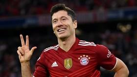 Robert Lewandowski trong mày áo Bayern Munich