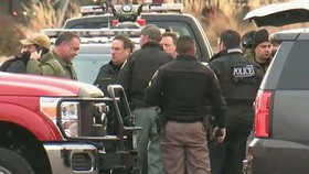 Cảnh sát phong tỏa hiện trường. Ảnh: Fox News