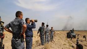Lực lượng an ninh Iraq từng kiểm soát nhiều vùng làng mạc sau khi các tay IS bỏ chạy. Ảnh: Iraqi News