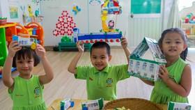 TPHCM: Chương trình sữa học đường đã triển khai tại 10 quận huyện
