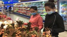 Trái vải chính gốc Hải Dương và Bắc Giang đã có mặt tại hệ thống siêu thị Co.opmart