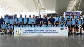 2.500 sản phẩm sữa của Vinamilk bổ sung dinh dưỡng cho Đội tuyển bóng đá quốc gia
