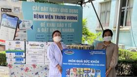 Tiếp sức cho các bác sĩ và bệnh nhi mắc Covid-19 tại Bệnh viện Trưng Vương TPHCM