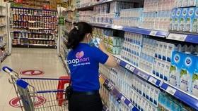 Một số Co.opmart áp dụng cách mua sắm an toàn mới, hạn chế tối đa lây nhiễm tại siêu thị