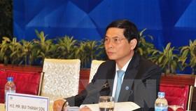 Thứ trưởng Thường trực Bộ Ngoại giao Bùi Thanh Sơn tại hội nghị.